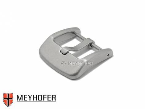 Large Buckle -Lokstedt- (Mycskbd-7046) stainless steel 24mm brushed by MEYHOFER - Bild vergrößern