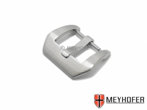 Large Buckle -Altona- (Mycskbd-7044) suitable for Panerai (curved style) stainless steel 20mm brushed by MEYHOFER - Bild vergrößern