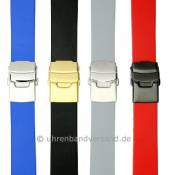 MySportivo-01: Sporty watch straps with clasp caoutchouc sporty design from Meyhofer MADE IN EUROPE