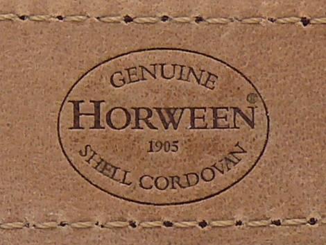 Deluxe-Watch strap 21mm light brown HORWEEN SHELL CORDOVAN leather smooth light stitching KUKI (width of buckle 18 mm) - Bild vergrößern