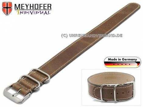 MyAventura-02: Meyhofer watch straps NATO - Style in various designs MADE IN GERMANY - Bild vergrößern
