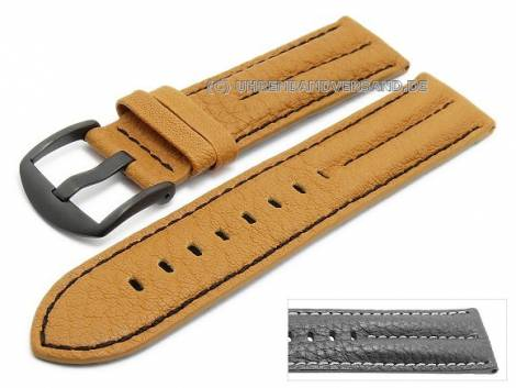 Multi-colour watch bands made of leather/synthetic/textile in diverse colour combinations - Bild vergrößern