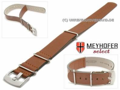 MyAventura-05: NATO- Style Meyhofer one piece watch straps in different designs