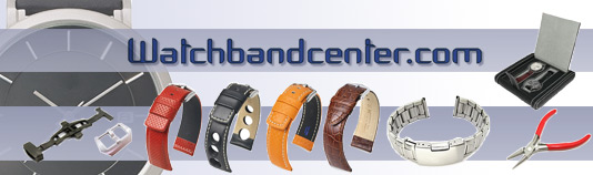 Watchbandcenter, your online shop for Watch Straps, Watch Bands and Watch Accessories
