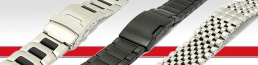 BEAR (Germany): Watch Bands Made of Stainless Steel, Titanium and more...