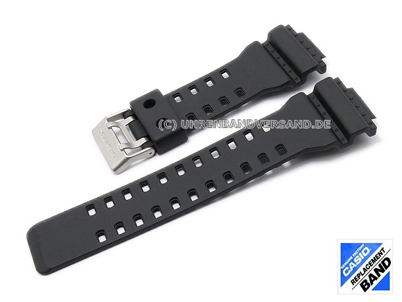 Casio Replacement Watch Strap Black Resin 10347688 For Ga 100 G 8900 Ga 120 Etc