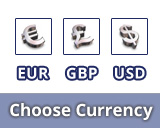Please choose a currency