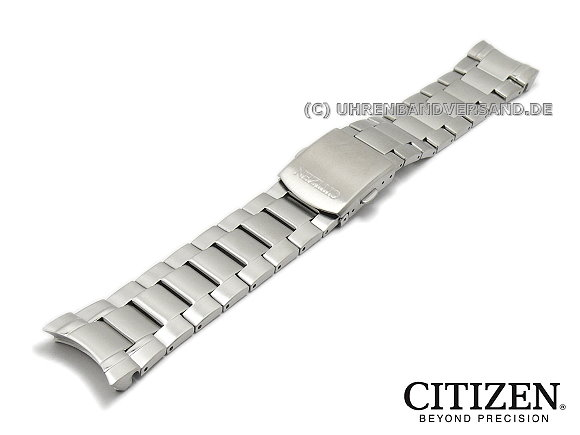 Replacement watch strap CITIZEN 22mm stainless steel curved lug ends for  AP4000-58E 87defd25f