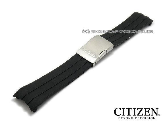 Replacement Watch Strap Citizen Cb0021 06e 23mm Black Silicone