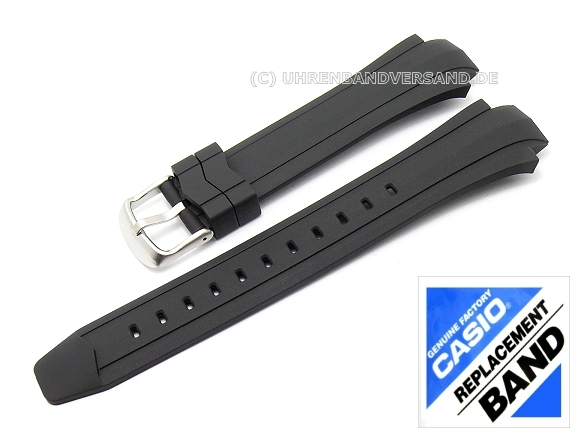 d6c20010c50f CASIO- replacement strap 16mm black synthetic (10249758) for EF-514-1AVF