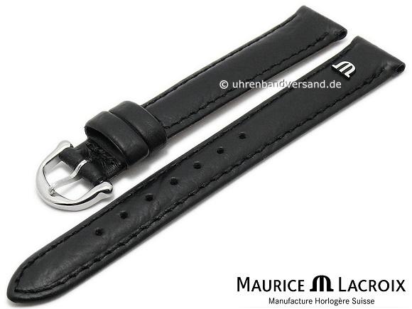 MAURICE LACROIX LEDER ARMBAND 14 MM /</<NEU/>/>
