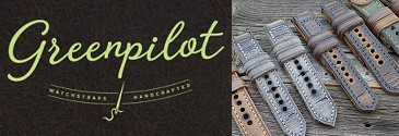 GREENPILOT - Watch straps hand made in Germany