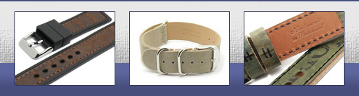 Here you will find watch bands manufactured in Germany or Europe!