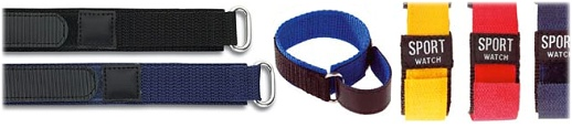 Your hook and loop watch strap