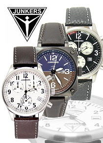 JUNKERS: Wrist watches and more