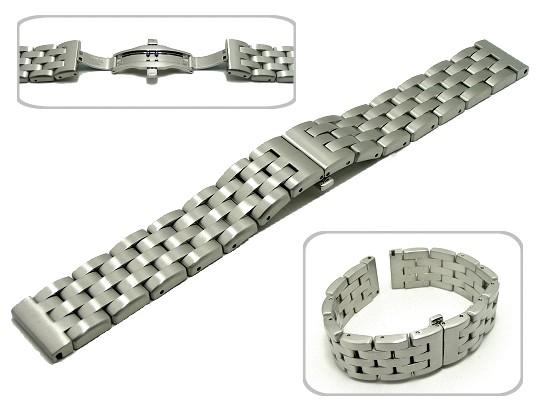 02c324fc14e 22mm Watch Bracelets Stainless Steel - Alert Bracelet