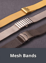 Mesh watch bands