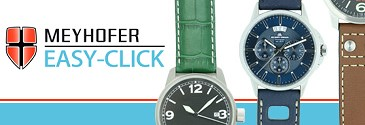 Meyhofer EASY-CLICK Quick-Release watch straps
