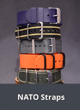 NATO watch strap and other one-piece watch straps
