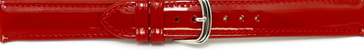 Patent leather watch bands