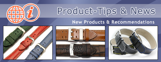 WATCHBANDCENTER: Product-Tips and News regarding watch straps, watch bands and more...