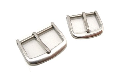 Buckle STANDARD (HeDS-2001) 20mm stainless steel polished