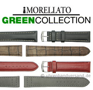 Ecological Watch Bands in leather look made of synthetic materials in various styles from the GREEN COLLECTION