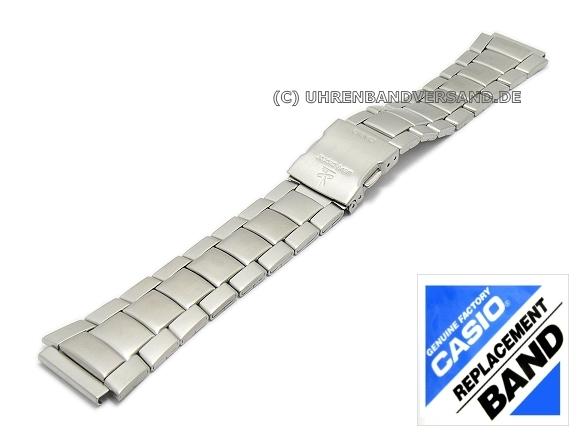 Casio Replacement Strap 18mm Stainless Steel 10243172 For Wv 58de 1av