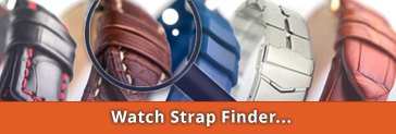 Watch Strap Finder: Watch straps made of leather, synthetic and metal, quick and easy to find