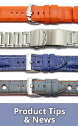 Product-News: Watch bands, watch straps & more
